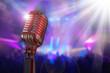 Retro microphone - 80094353