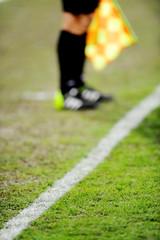Assistant referee on sideline