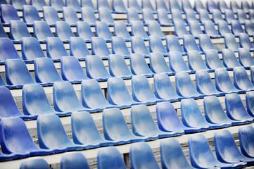 Sport arena after rain