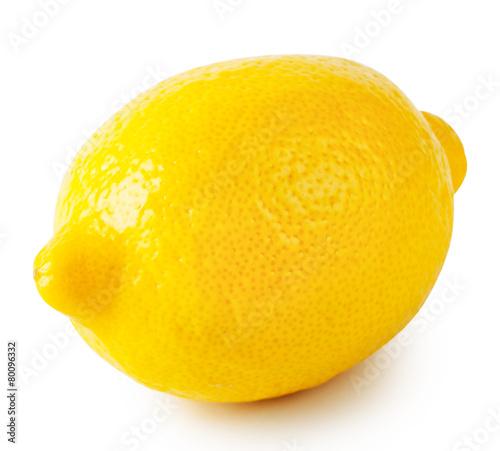 Keuken foto achterwand Boodschappen Yellow ripe sour lemon