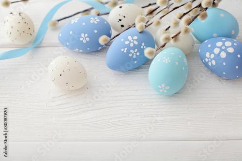 Plakát easter eggs