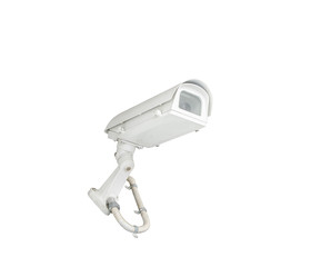 Isolated security cctv camera