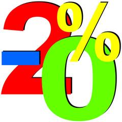 Prozent Prozente Rabatt  #150319-12