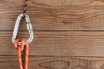 Mountain gear for climbing: Munter hitch knot
