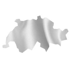 スイス 地図 シルク