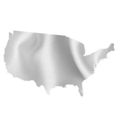 アメリカ 地図 シルク