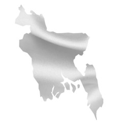 バングラデシュ  国旗 シルク