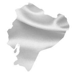 エクアドル 地図 シルク
