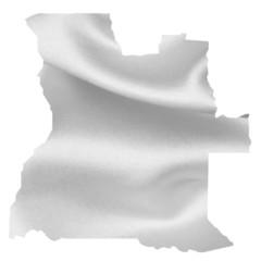 アンゴラ 地図 シルク