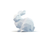 Fototapety Low Poly Osterhase 3D