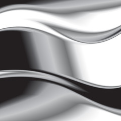 Abstract background with iron. Vector. 3