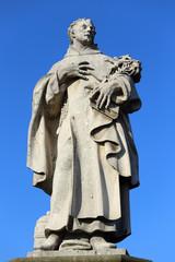 Baroque Sculpture from Prague Charles Bridge, Czech Republic