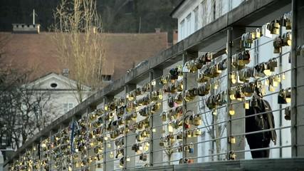 Butcher's Bridge Ljubljana sLOVEnija sLOVEnia