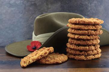 Australian Anzac biscuits