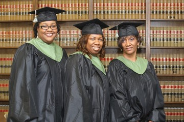 Happy Law School Graduates