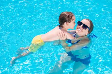 Teaching swimming