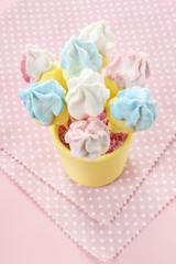 Marshmallow cake pops