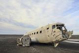 la carcassa del relitto aereo abbandonato a Sólheimasandur