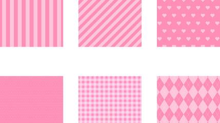 ピンク 背景模様