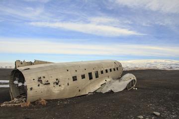 Islanda: il relitto aereo abbandonato a Sólheimasandur