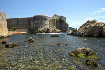 Крепость Святого Ивана. Дубровник. Хорватия.