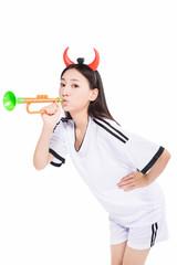 asian girl cheerleader, chinese
