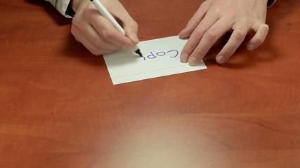 Short negotiation message Copy