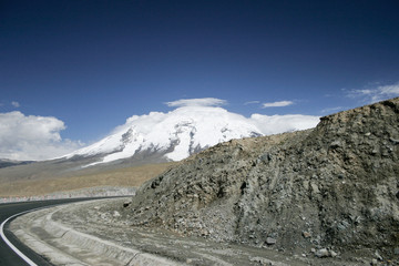Karakoram Highway in China