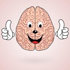 Healthy Cartoon Brain