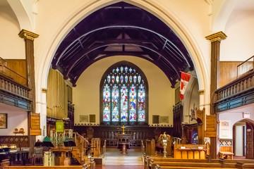 Inside Church in St John