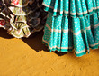 Trajes de flamenca, feria, fiesta, España