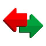 Icono derecha e izquierda