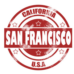 San Francisco Stamp