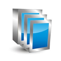 Documents 3D Icon