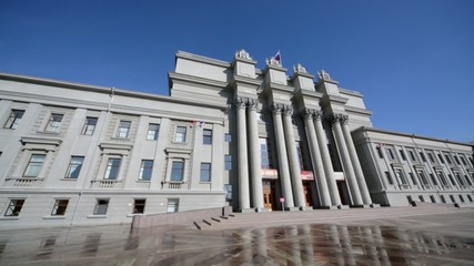 Building of academic opera and ballet theater