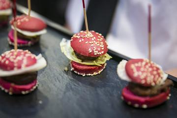 Burger und Hamburger bei Catering & Flying Buffet