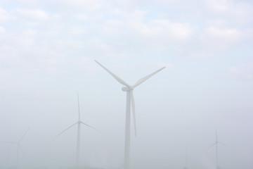 Winräder Nebel