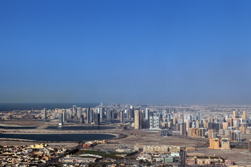 Sharjah cityscape, United Arab Emirates