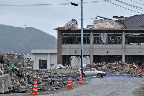 東日本大震災津波災害 - 80128797