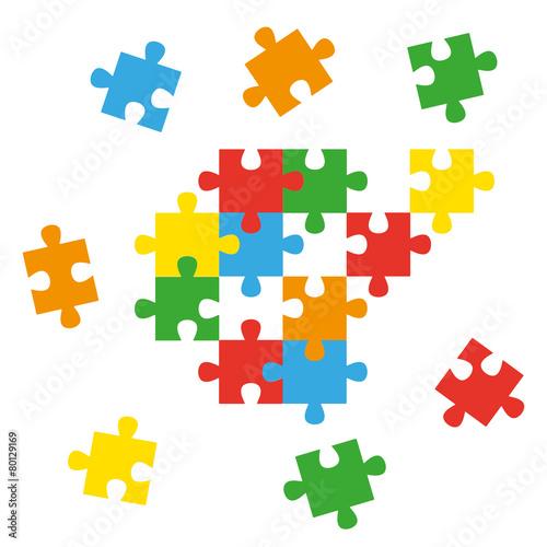Puzzleteile - 80129169