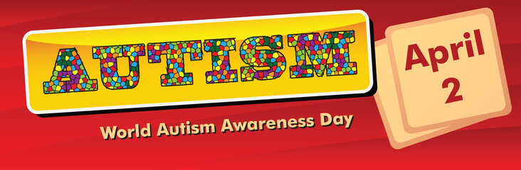 Banner World Autism Awareness Day