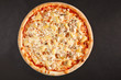 Tasty Italian pizza with pineapple chicken and cheese - 80131704