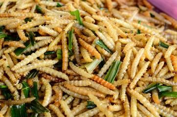 fried worm