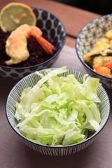 insalatina e tempura