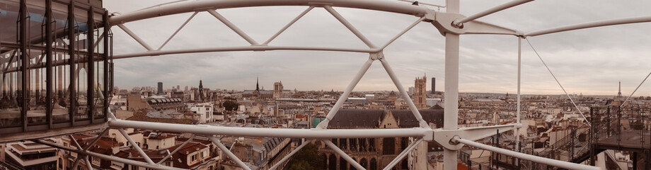 Paris. View of the city roofs.