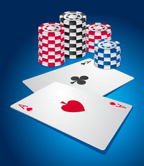 Poker background
