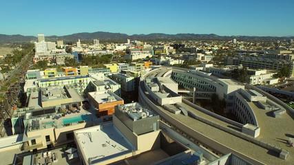 Los Angeles Aerial Santa Monica