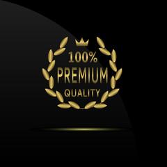 Premium quality label