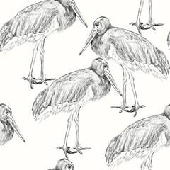 herons sketch