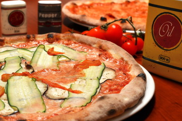 italian pizza vegetarian